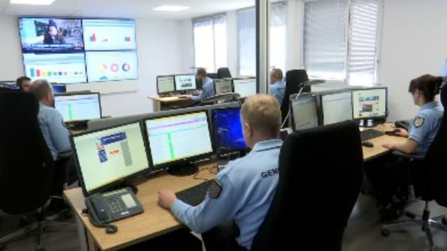 La brigade numérique de gendarmerie à Rennes