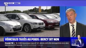 Bercy s'oppose au malus automobile en fonction du poids des voitures