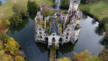 Le château de La Mothe-Chandeniers, dans la Vienne.