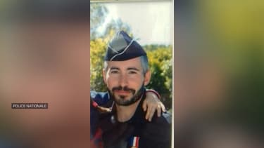 Le brigadier Éric Masson, tué par balles mercredi après-midi à Avignon.