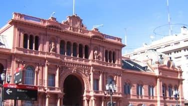La Casa Rosa, le palais présidentiel argentin à Buenos Aires.