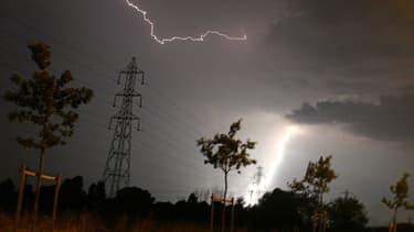 Un orage près de Toulouse. (Photo d'illustration)
