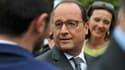 François Hollande le 11 septembre 2015 à Saint-Aignan.