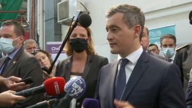 Le ministre de l'Intérieur Gérald Darmanin s'exprime depuis Bayonne, au lendemain de la mort du chauffeur de bus sauvagement agressé