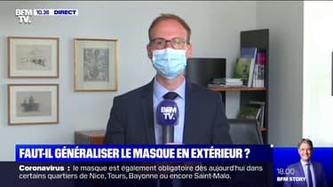 """Masque obligatoire en extérieur: le maire de Laval salue """"une mesure simple, claire et comprise par tous"""""""