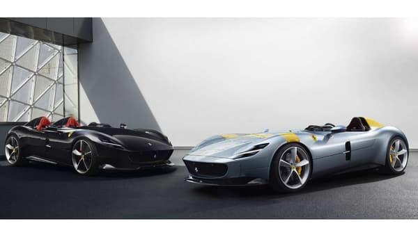 La SP2 (à gauche), et la SP1 (à droite) ne seront produites qu'à 500 exemplaires au total.