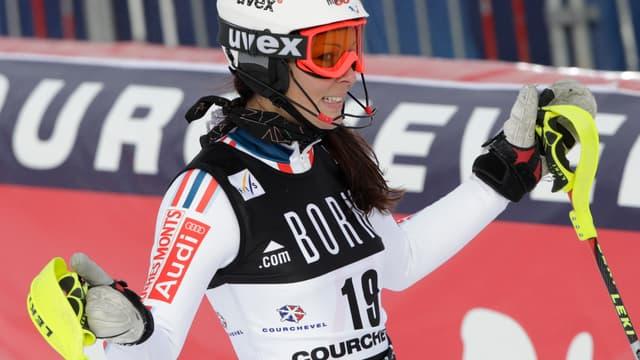 Nastasia Noens, 3e à Flachau