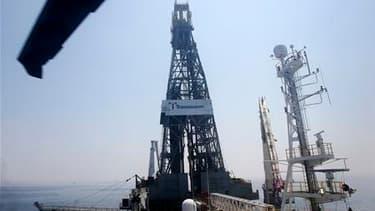 Le pétrolier BP a annoncé vendredi qu'il lui faudrait jusqu'à 48 heures de plus pour évaluer la réussite de sa manoeuvre de colmatage du puits de pétrole endommagé dans le Golfe du Mexique. /Photo prise le 28 mai 2010/REUTERS/Sean Gardner