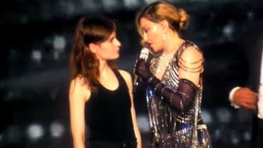 Christine and the Queens et Madonna à l'Accor Hotels Arena le 10 décembre 2015