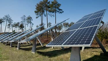 L'Exotrack d'Exosun permet d'augmenter de 20 à 40 % la production d une centrale solaire: l'un des projets mis en avant dans le cadre des investissements d'avenir
