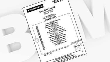 Grille du Loto Foot du 25 janvier 2020