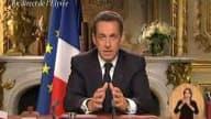 Une première pour Nicolas Sarkozy qui, dans son discours, reviendra sur l'année 2007 et sa volonté en 2008 de mener « une politique de civilisation ». Un message présidentiel original, comme le nain sur la cheminée.