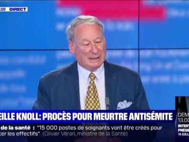 """Mireille Knoll: son fils Alain se dit """"satisfait de la tournure que prennent les événements"""""""