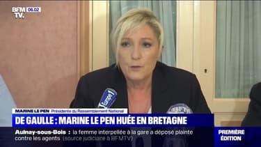 Appel du 18 juin: Marine Le Pen huée à l'Île de Sein, mercredi