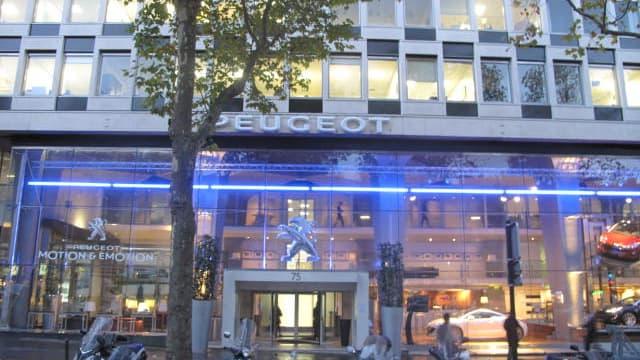 Le siège actuel de PSA Peugeot-Citroën, avenue de la Grande Armée à Paris.