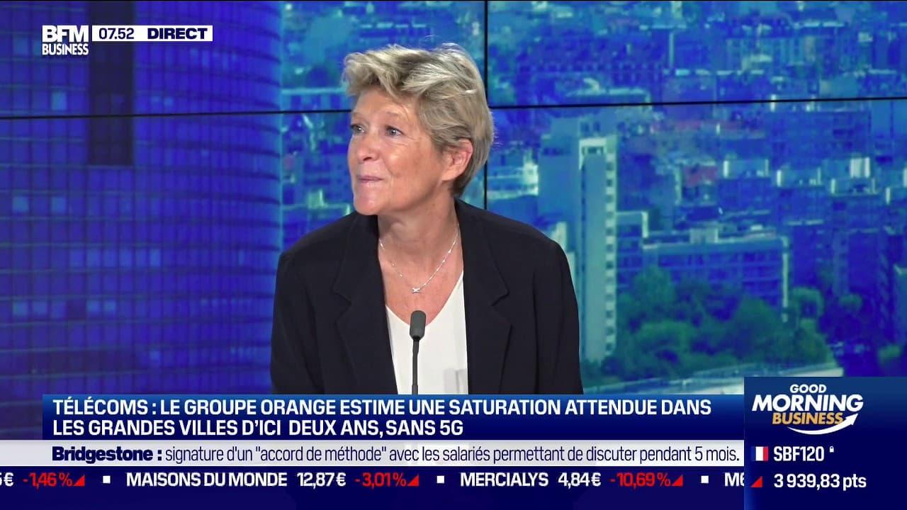 """5G: Fabienne Dulac (Orange) appelle à faire preuve de """"pédagogie"""""""