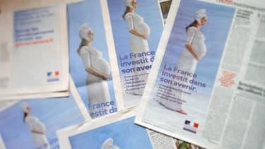 Des images de communication de 2010 lors de la première levée de fonds du Grand Emprunt
