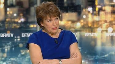 Roselyne Bachelot sur le plateau de News et Compagnie.
