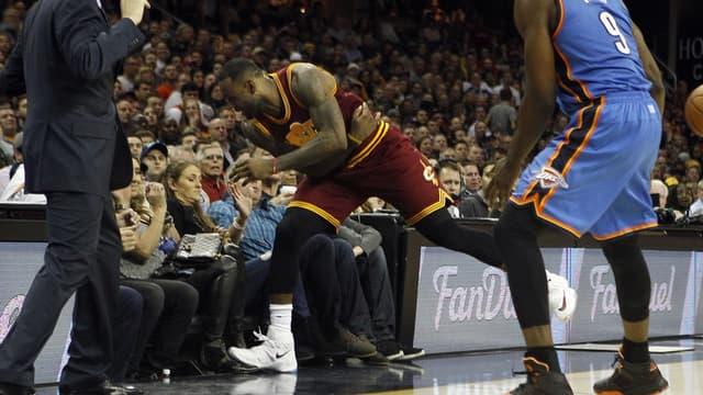 """LeBron James avant la """"catastrophe"""""""