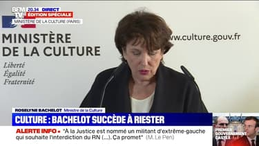 """Roselyne Bachelot (nouvelle ministre de la Culture): """"L'urgence absolue sera d'aider à la remise en route des lieux de culture"""""""