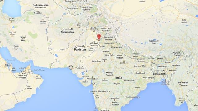 Les faits se sont déroulés à Lahore, au Pakistan.