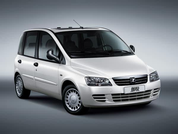 Le MV300, adaptation locale du Fiat Multipla, est produit légalement en Chine, par Zotye, qui a racheté sa licence à l'Italien.