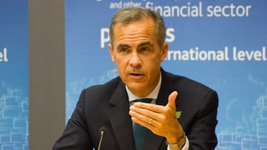 Mark Carney, le gouverneur de la banque centrale britannique.