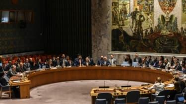 Réunion du conseil de sécurité de l'ONU consacré à la Corée du Nord le 4 septembre 2017 à New York