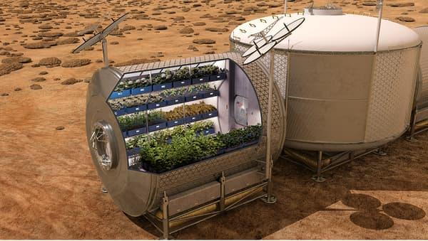 La NASA envisage de cultiver des aliments sur les engins spatiaux à venir, et sur d'autres planètes.