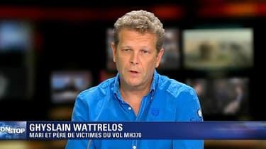 Ghyslain Wattrelos, mari et père de passagers français du vol MH370.