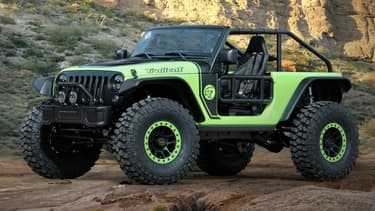 """Une allure dingue, un moteur qui ne l'est pas moins, cette Wrangler """"Trailcat"""" va faire parler dans le cercle des amoureux de Jeep."""