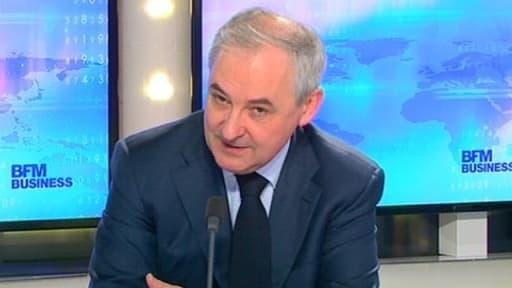 François Pérol était l'invité de BFM Business, ce mercredi 7 mai.