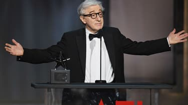 Woody Allen au Dolby Theatre à Hollywood, le 8 juin 2017