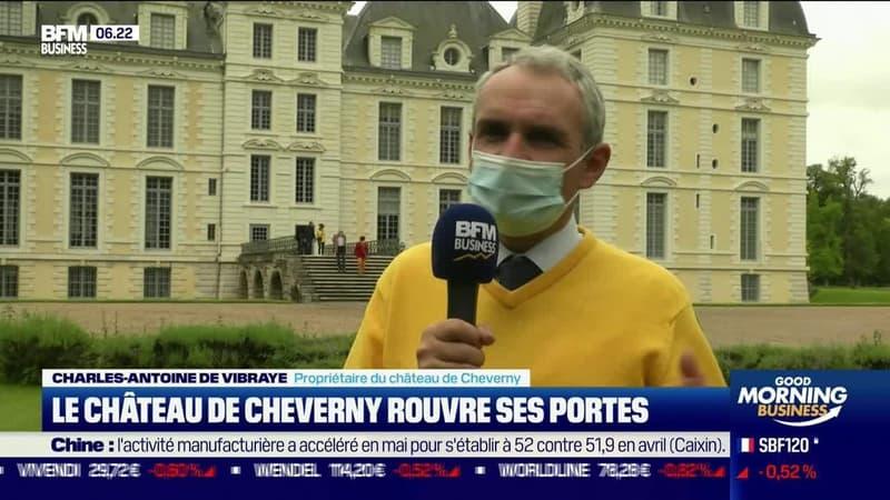 La France qui résiste : Le château de Cheverny rouvre ses portes, par Justine Vassognes - 01/06