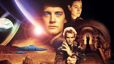 """L'affiche de """"Dune"""", le film de David Lynch en 1984."""