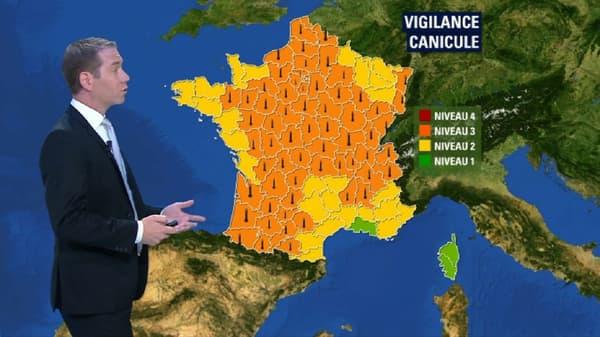 67 départements en alerte orange