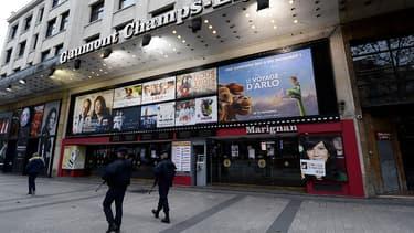 Les cinémas sont restés fermés, ce samedi à Paris, au lendemain des attentats terroristes dans la capitale.