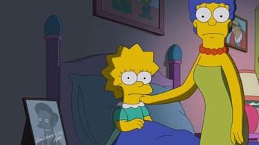 """Marge Simpson et sa fille Lisa dans l'épisode 15 de la saison 29, intitulé """"No Good Read Goes Unpunished"""""""