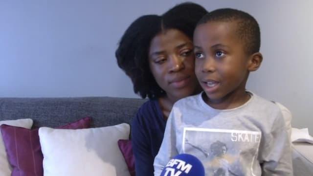 Samuel-Krys, 5 ans, a sauvé la vie de sa mère, prise d'un malaise, en appelant les pompiers.