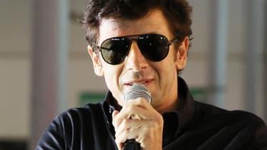 Patrick Bruel lors du lancement de la tournée de poker Winamax le 26 Octobre 2013, à Paris.