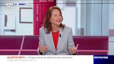 """Ségolène Royal: """"On voit arriver une génération de femmes à la tête des grandes villes, c'est un événement"""""""