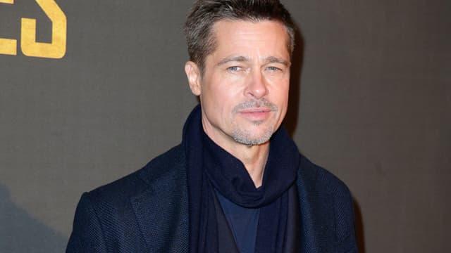 Brad Pitt à Paris le 20 novembre 2016