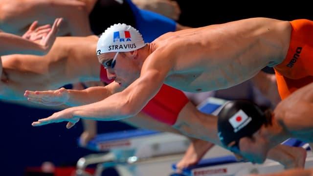 Jérémy Stravius et le relais 4x200m NL français en finale