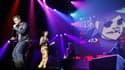 Gorillaz sur scène le 22 novembre 2010