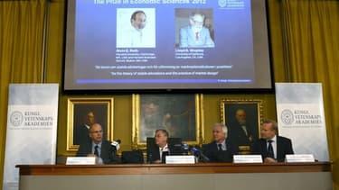 Alvin Roth et Lloyd Shapley sont les nouveaux Nobel de l'économie