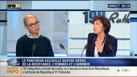 Olivier Wieviorka et Sylvie Pierre-Brossolette face à Ruth Elkrief
