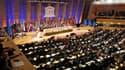 Des délégués prennent part au vote au siège de l'Unesco à Paris. La Palestine a fait un pas vers la reconnaissance internationale qu'elle appelle de ses voeux en devenant lundi membre à part entière de l'Unesco. Cette reconnaissance suscite des réticences