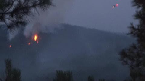 Incendie de forêt entre la Loire et le Rhône - Témoins BFMTV