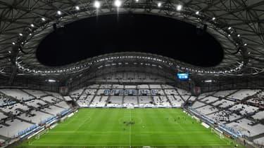 Le stade Vélodrome de Marseille le 20 octobre 2019