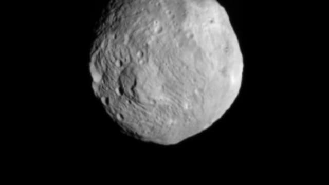 L'astéroïde Vesta, image capturée en 2011 par la Nasa.